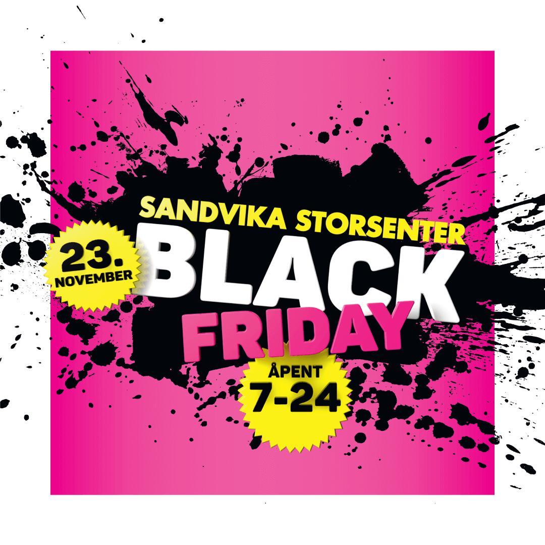 Bilde av arbeid for Sandvika Storsenter: Black Friday