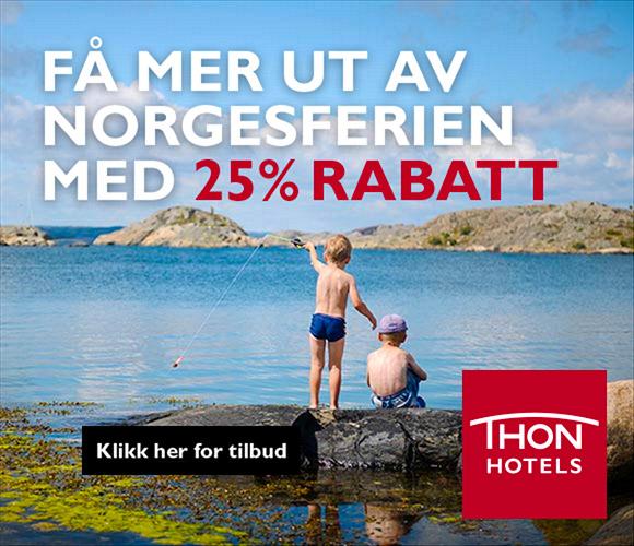 Bilde av arbeid for Thon Hotels: Sommerkampanje
