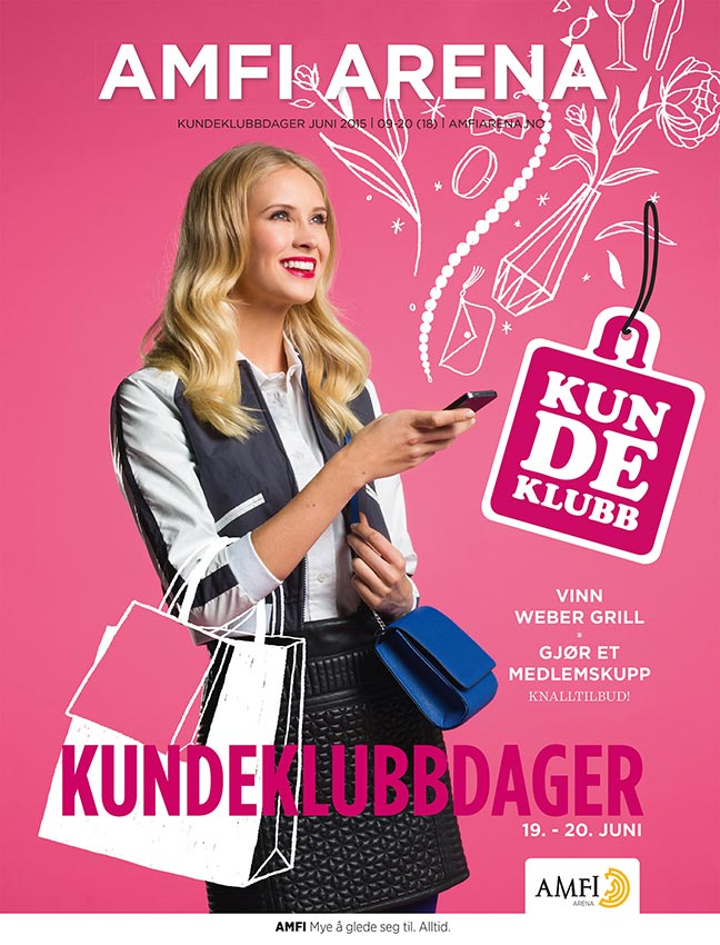 Bilde av arbeid for Amfi: Kjøpesentermagasiner